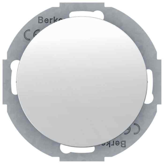 Заглушка с суппортом Berker R.classic полярная белизна 10092079