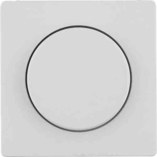 Светорегулятор поворотно-нажимно 60-600 Вт. для ламп накал. и галог.220В, слоновая кость с эффектом бархата 286010 + 11376082