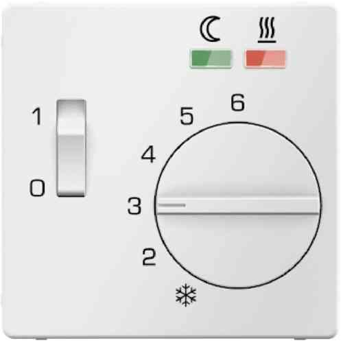 Терморегулятор теплого пола с датчиком пола, полярная белизна 16726089 + FRe 525 22