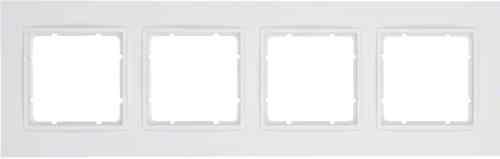 Рамка четверная B.7 полярная белизна матовый 10146919