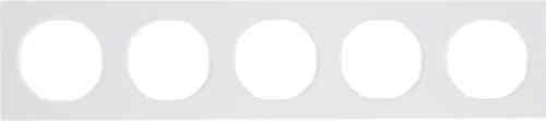 Рамка 5 местная, Berker R3, полярная белизна, 10152289