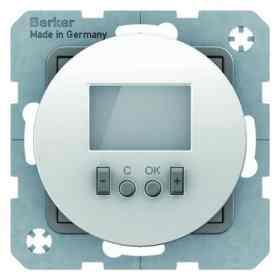 Терморегулятор теплого пола электронным дисплеем белый 20452089