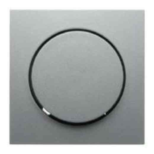 Светорегулятор поворотно-нажимной 100-1000 Вт. для ламп накаливания и галог.220В, алюминий 2885 + 11371404