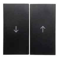 Выключатель управления жалюзи клавишный, антрацит 303520 + 16251606
