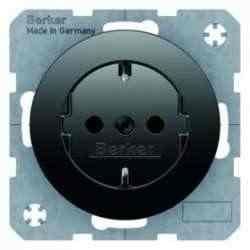 Розетка с заземляющими контактами 47432045, , Тип товара:: Розетка электрические, Гарантия:: 12 месяцев, Единицы измерения:: шт, Цвет: Черный, Материал: Пластик